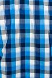 Karierte Textilverzierung Lizenzfreie Stockbilder