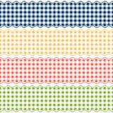 Kariertes Muster der Fahne - endlos lizenzfreie abbildung