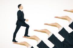 Kariery promoci i rozwoju pojęcie zdjęcie stock