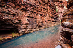 Karijini i Westaustralia Royaltyfri Foto