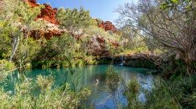 Karijini national park Royalty Free Stock Images
