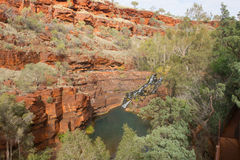 Karijini National Park Western Australia Royalty Free Stock Images