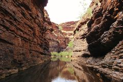 Karijini National Park, Western Australia Royalty Free Stock Images