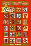 Karikatur Advent Calendar Stockbild