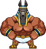 Karikatur Anubis überzeugt lizenzfreie abbildung