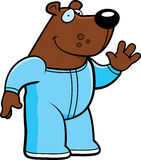 Karikatur-Bärn-Pyjamas Stockbild