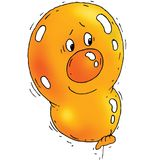 Karikatur-Ballon Lizenzfreie Stockfotos