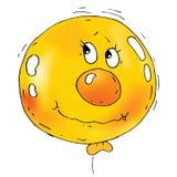 Karikatur-Ballon-Gesichter Lizenzfreie Stockfotos