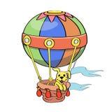 Karikatur-Ballonvektor Stockfoto