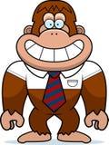 Karikatur-Bigfoot-Bindung Lizenzfreies Stockbild