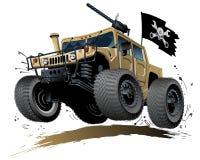 Karikatur-Buggy Stockbild
