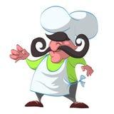 Karikatur-Chef Illustration Lizenzfreies Stockbild