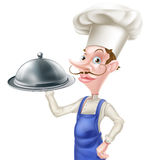 Karikatur 3d cheff Stockfotos