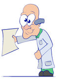 Karikatur-Doktor Lizenzfreies Stockfoto