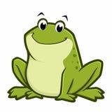 Karikatur-Fett-Frosch Lizenzfreie Stockbilder