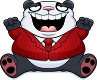 Karikatur-Fett Panda Bear Suit Lizenzfreie Stockfotografie