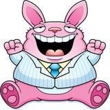 Karikatur fettes Ostern Bunny Suit Lizenzfreie Stockbilder