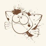 Karikatur-Frosch Stockbild