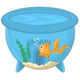 Karikatur-Goldfische Lizenzfreies Stockbild