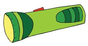 Karikatur-greller Blitz Stockfotografie