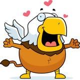 Karikatur Griffin Hug stock abbildung