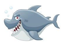 Karikatur-Haifisch Lizenzfreies Stockbild