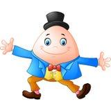 Karikatur Humpty Dumpty stock abbildung