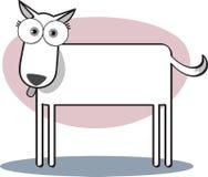 Karikatur-Hund Stockfotografie