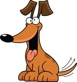 Karikatur-Hund dumm vektor abbildung