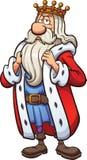 Karikatur-König Lizenzfreies Stockbild