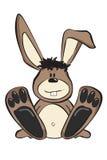 Karikatur-Kaninchen Lizenzfreies Stockfoto