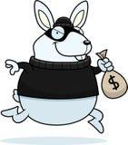 Karikatur-Kaninchen-Einbrecher Stockbilder
