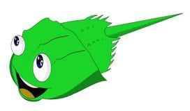 Karikatur-Koch Limulidae Cook lizenzfreies stockbild
