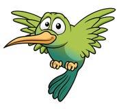 Karikatur-Kolibri Lizenzfreies Stockfoto