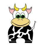 Karikatur-Kuh Stockfotografie