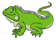 Karikatur-Leguan-Eidechse Lizenzfreie Stockfotografie