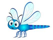 Karikatur-Libellen-Clipart Stockfoto