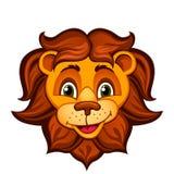 Karikatur Lion Head Lizenzfreie Stockfotografie