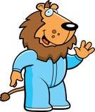 Karikatur Lion Pajamas Lizenzfreie Stockbilder