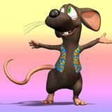 Karikatur-Maus oder Ratte #04 Stockfoto