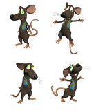 Karikatur-Maus - pack1 Lizenzfreie Stockfotos