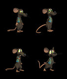 Karikatur-Maus - Satz 2b Stockfotos