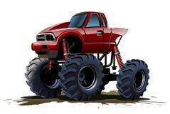 Karikatur-Monstertruck Stockbild