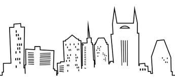 Karikatur Nashville vektor abbildung