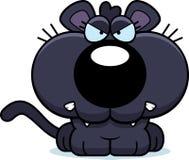 Karikatur-Panther verärgert Lizenzfreie Stockfotos