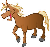 Karikatur-Pferd lizenzfreie abbildung