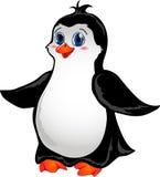 Karikatur-Pinguin Stockfoto