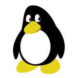 Karikatur-Pinguin Lizenzfreies Stockfoto
