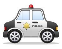 Karikatur-Polizeiwagen Lizenzfreie Stockfotos