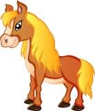Karikatur-Pony Lizenzfreie Stockfotografie